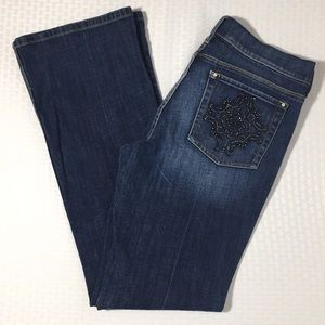 White House Black Market Noir Jeans